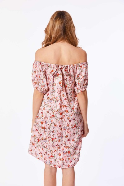 Vestido Cascadia Off Shoulder